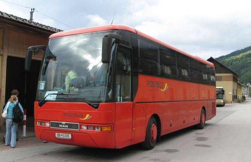 151 MAN RH 403, Postbus (Österreich) ehemals Bahnbus