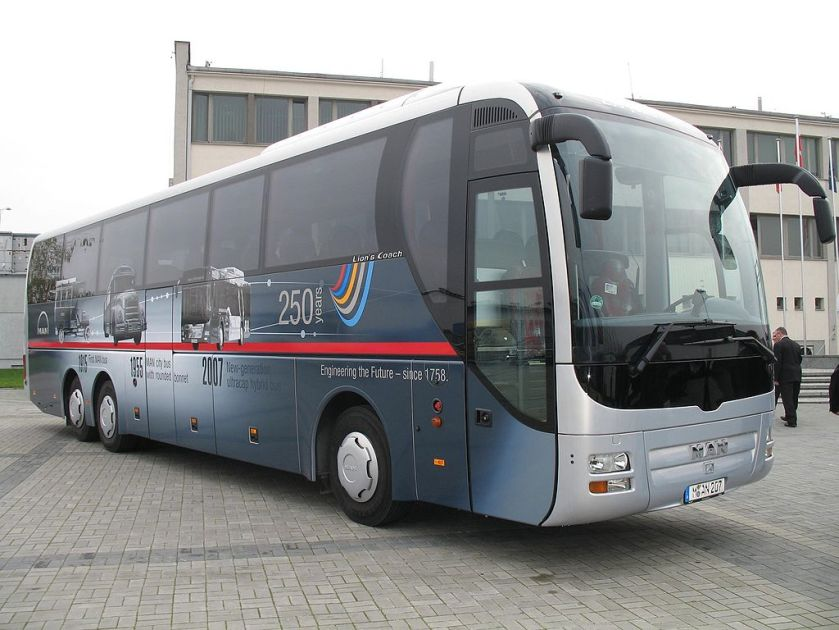 152 2007 MAN Lion's Coach