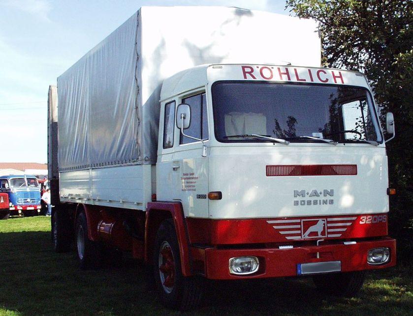 153 MAN-Büssing Lkw mit Unterflurmotor und noch mit Büssing-Fahrerhaus