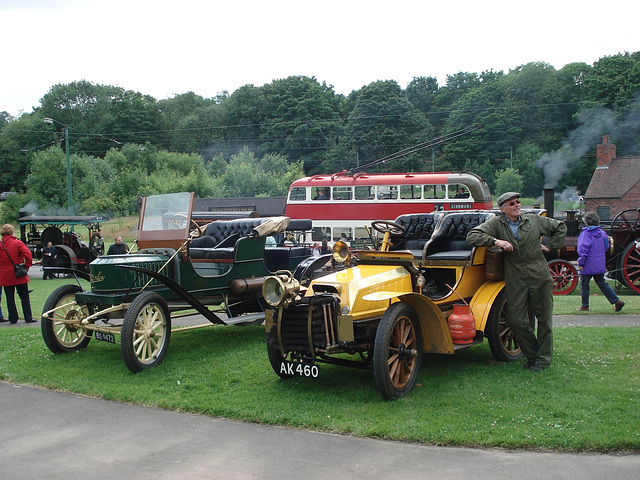 1904 Stanley 1911 et Turner-Miesse 1904