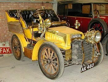 1905 Belgian Miesse steam car