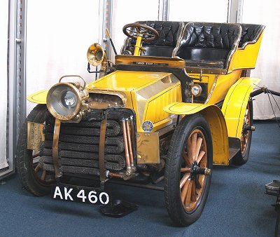 1905 Miesse TurnerSteamCar