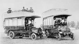 1905 Milnes-Daimler's were imported for the Horbart Electric Tramway Co. in 1905