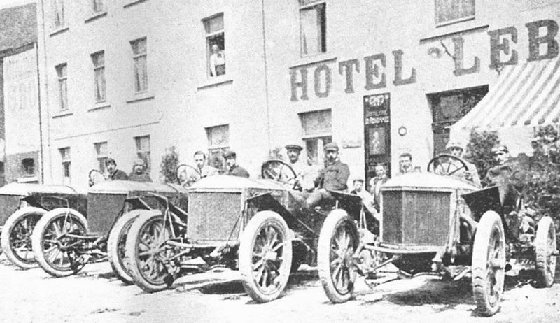 1907 circuit des ardennes kaiser preis cars-minerva team1