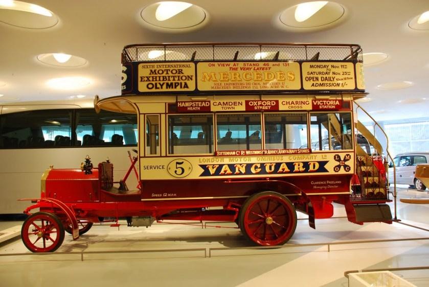 1907 Milnes-Daimler Doppeldecker-Bus