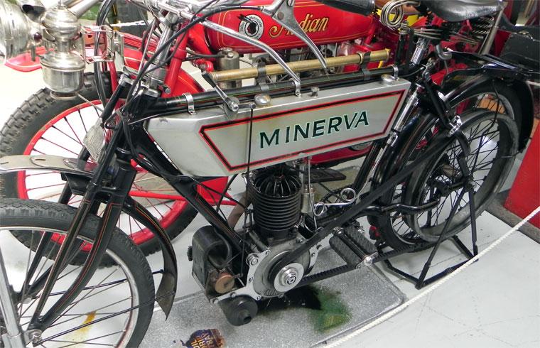 1910 Minerva motorcycle