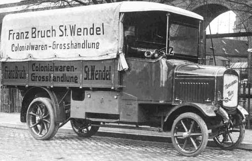1913 Franz Bruch St. Wendel Lastwagen