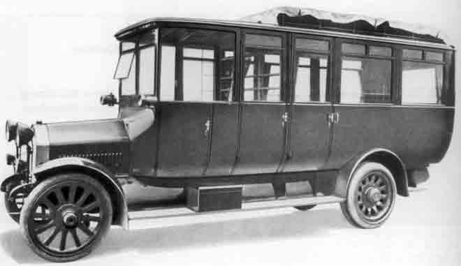 1917 MAN -Saurer