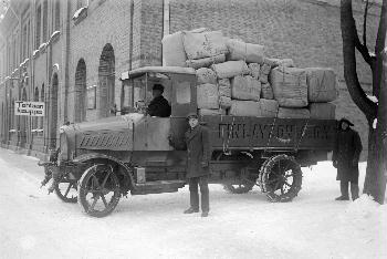 1919 Finlaysonin Mannesmann Mulag-auto 1921