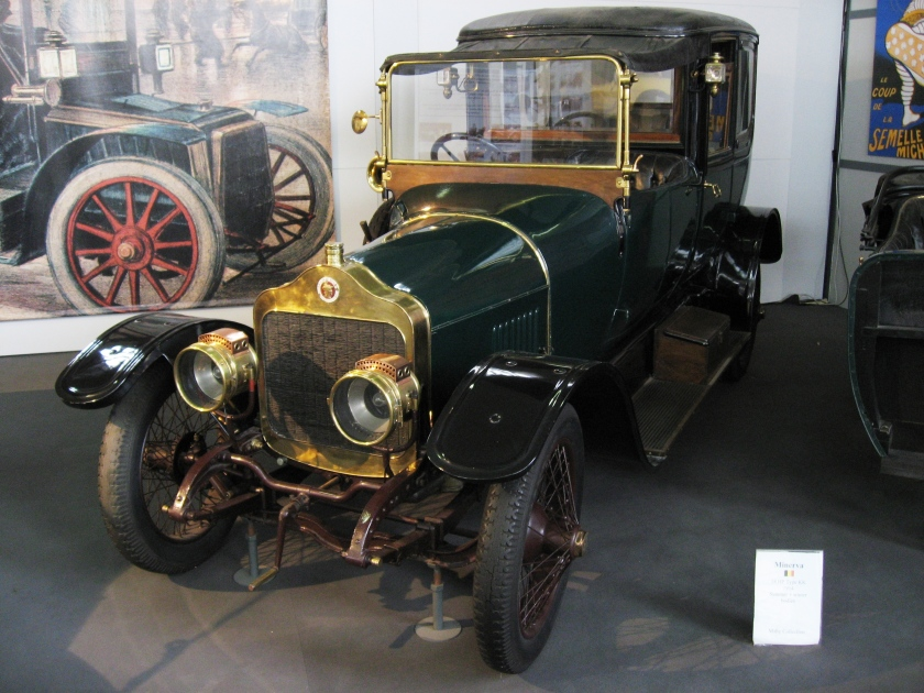 1921 Minerva Type 00 – 30 HP – 6 cyl. – 5941 cc