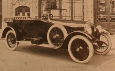 1922 Minerva 30 hp Open Touring Car