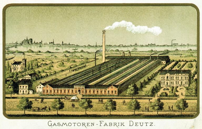 1923 Gasmotoren Fabrik Deutz