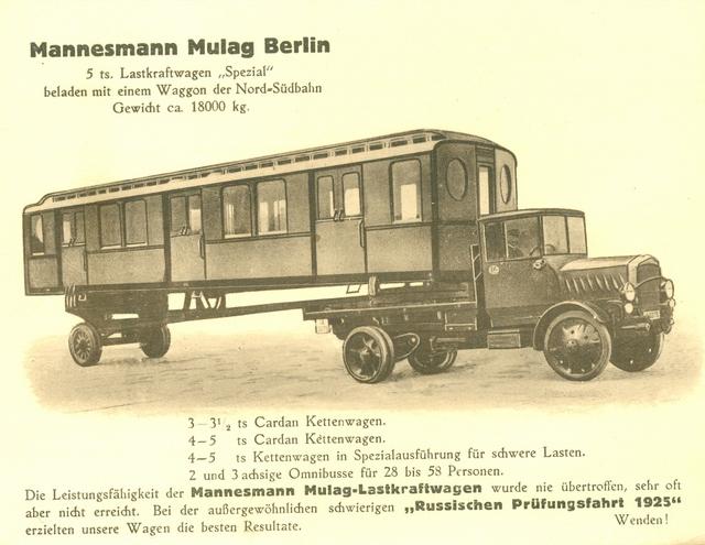 1925 Mannesmann Mulag