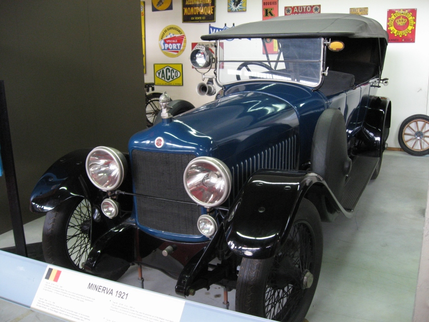 1925 Minerva AD– 16 HP  4 cyl.  2250 cc