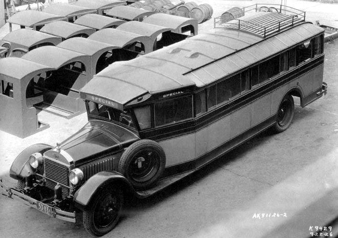 1926 Mack do tipo AB