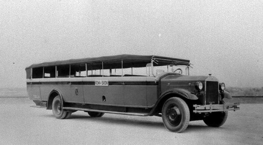 1927-30 Lancia Omicron Charabanc Macchi