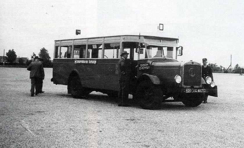 1927 Magirus-Deutz M1007 AG(D)  Kromhout (via Geesink, Weesp) - Werkspoor, Zuilen  A'dam