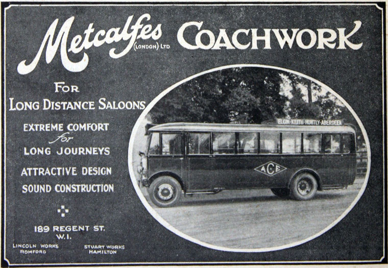 1928 Metcalfe's Coachwork (London) 1928