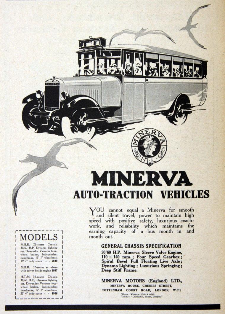 1928 Minerva 1928