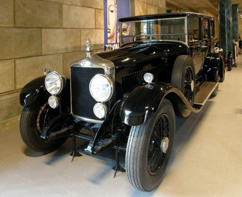 1928 Minerva 32CV AK Landaulette
