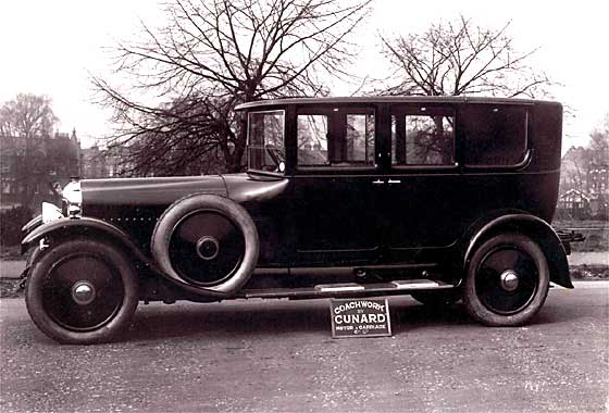 1928 Minerva Limousine with a British Cunard body