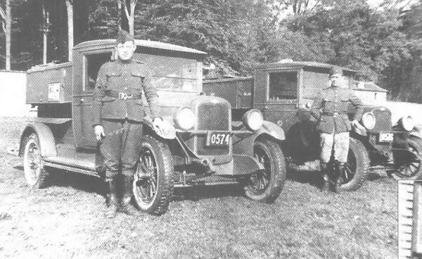 1928 Minerva's overvalwagens belchev