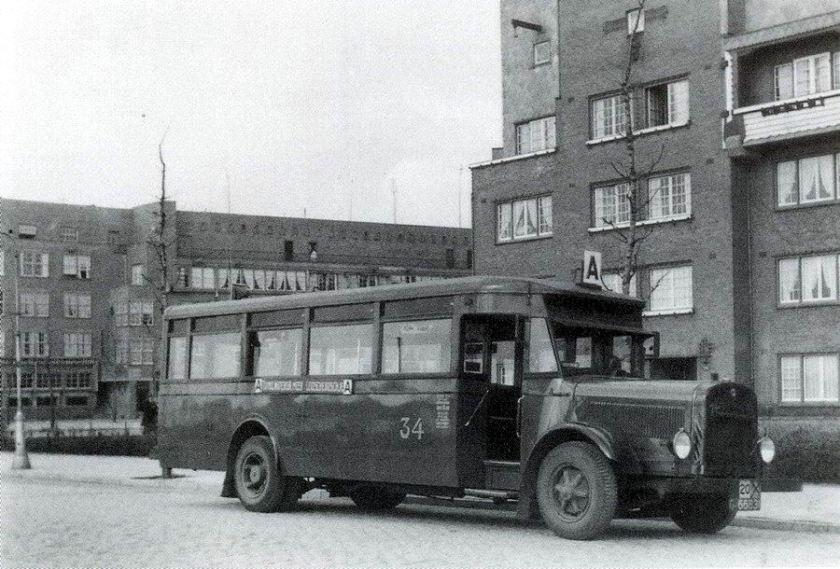1929 Magirus-Deutz M1007 AG (via Geesink, Weesp) - Werkspoor, Zuilen  A'dam