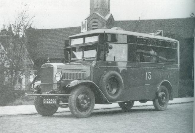 1929 Mercedes Benz  Roosdorp - Lodewijkx Adam busserie17