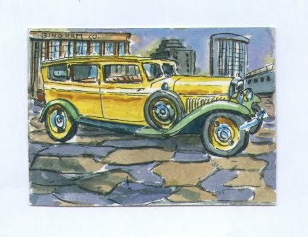 1929 Minerva, Yellow