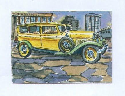 1929 Minerva, Yellow