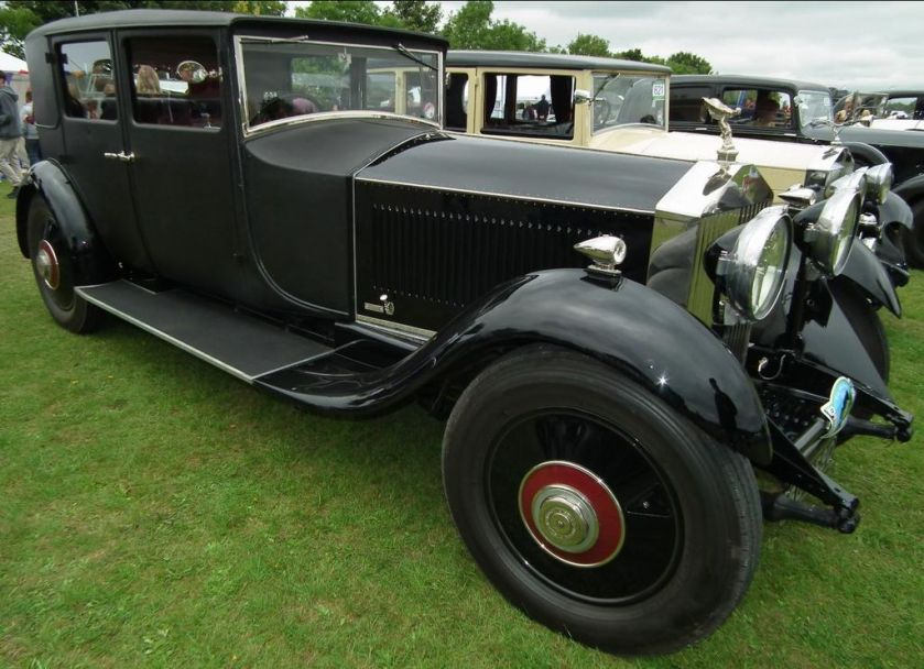 1929 Rolls-Royce Phantom II Weymann body by H J Mulliner DSCF1651Kop Hill 2013