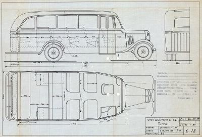 1930 Autokori Oy n 1930-luvun koripiirustukset