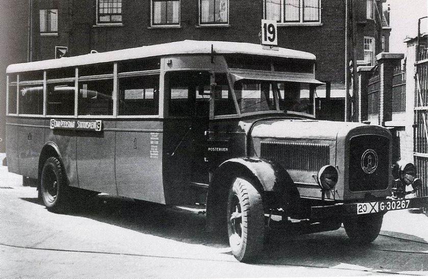 1930 Magirus-Deutz AG (via Geesink, Weesp) - Werkspoor, Zuilen A'dam