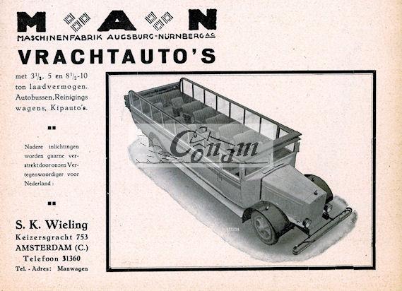 1930 MAN-wieling