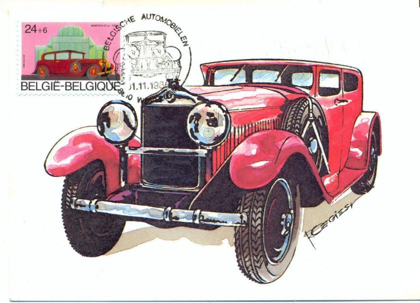 1930 MINERVA 22cv