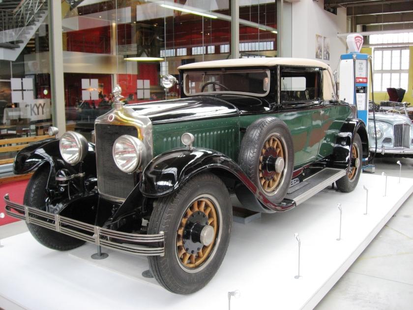 1930 Minerva AL 40 HP  8 cyl.  6625 cc