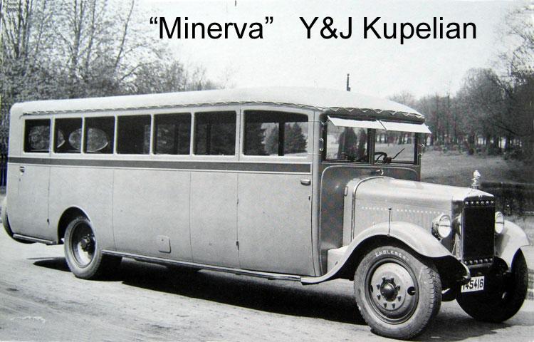 1930 Minerva bus HTM B
