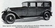 1931 Daimler Motor-MannEgerton
