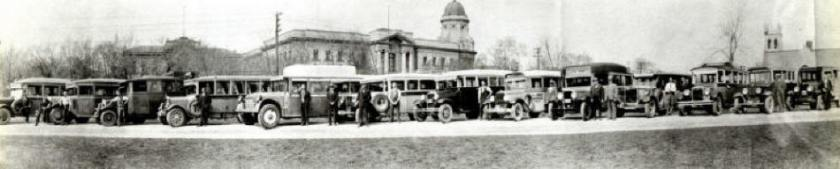 1931 Manitoba Bus Owners Association Meeting at Legislature GGB Photo