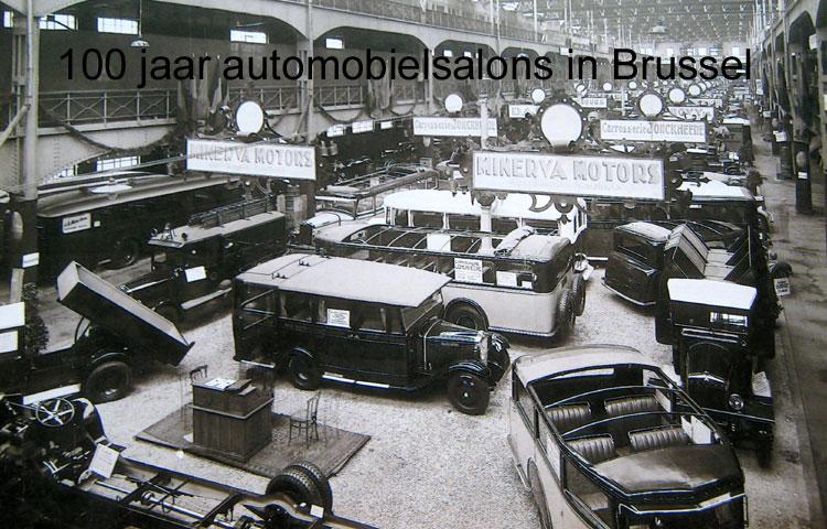 1931 Minerva autosalon brussel België