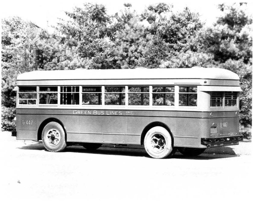 1933 Mack Model 6CL3S GreenBus2BWA-3