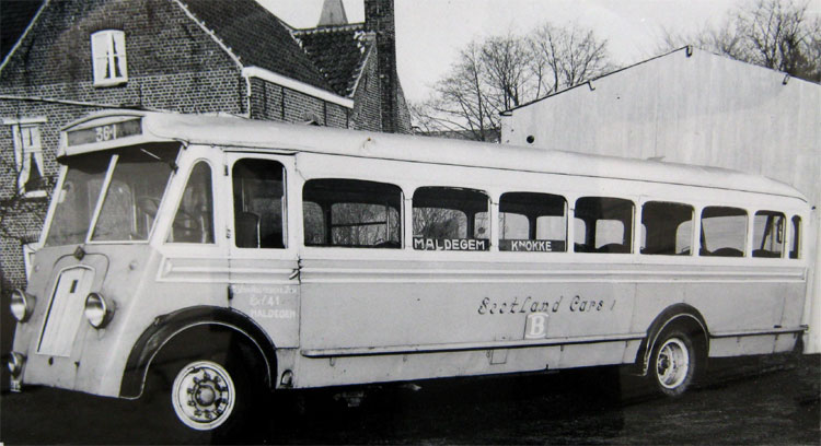1934 Auto Miesse Jonckheere België