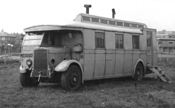 1934 Cumberland Motors 38, AAO574, a Leyland Lion LT5A with Massey body