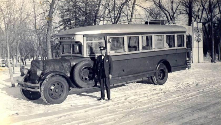1934 Mack Model BK Winnipeg