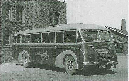 1934 Mercedes Benz van Weil & Goerke