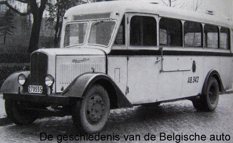 1934 Miesse spoorweg België