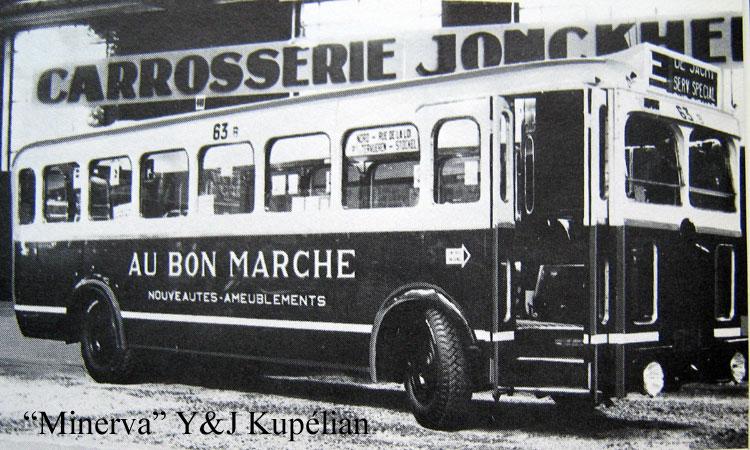 1934 Minerva bus Jonckheere B