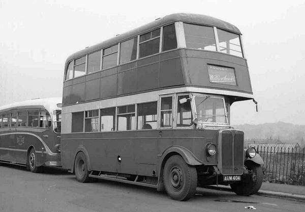 1935 AEC Regent new to Leeds as number 161 with an MCCW H30-26R body