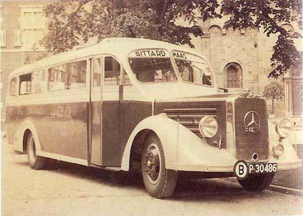 1935 Mercedes-bus