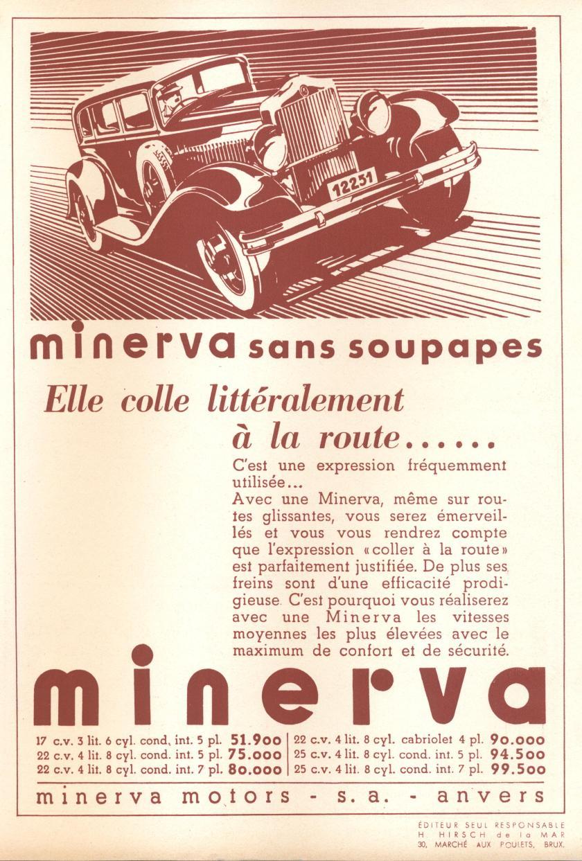 1935 minerva 1935